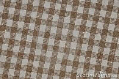 Beige tablecloth grid