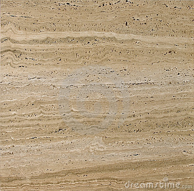 Beige textured travertine