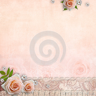 Beige wedding background