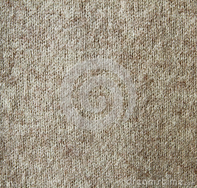 Beige wool knitted texture