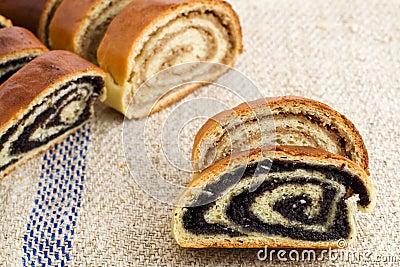 Beigli - hungarian poppy seed and walnut rolls