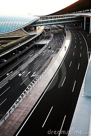 Free Beijing Airport Roads Stock Photos - 4725893