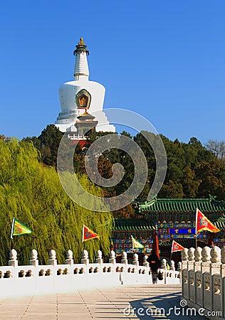 Beijing beihai park of china