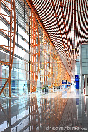 Beijing Capital Airport Corridor