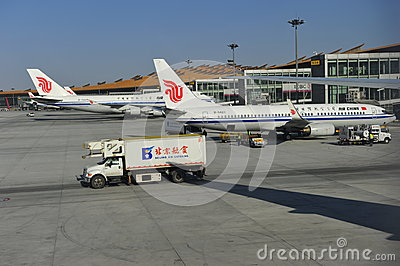 Beijing Capital International Airport Editorial Stock Photo