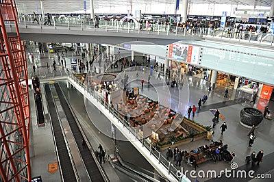 Beijing Capital International Airport Editorial Photo