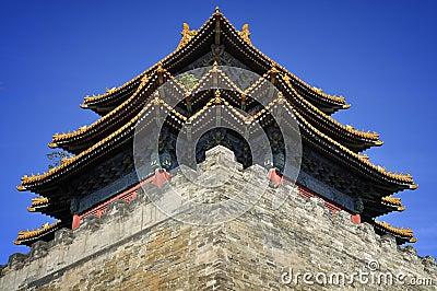 Beijing Forbidden City Gate Tower