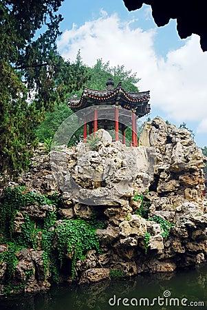 Free Beijing Garden Stock Photography - 10609412