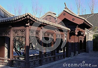 Beijing Garden In Alley
