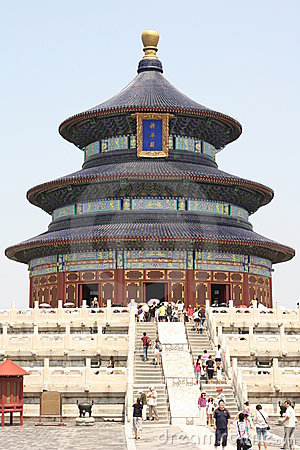 Beijing landmark - Temple of Heaven Editorial Stock Photo
