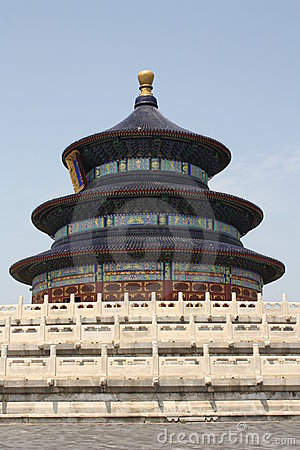 Beijing landmark - Temple of Heaven
