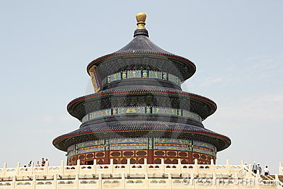 Beijing landmark - Temple of Heaven Editorial Stock Image