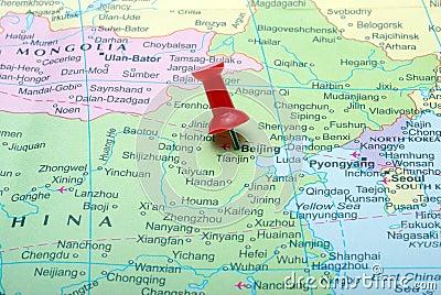 Beijing  in map