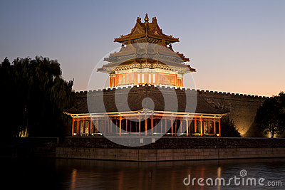 Beijing moat tower