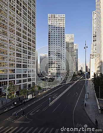 Beijing Modern Building Editorial Image