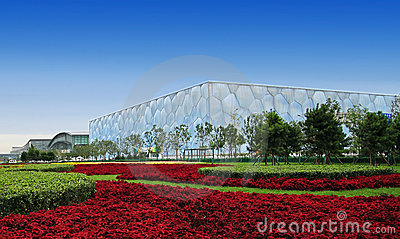 Beijing National Aquatics Center Editorial Photography