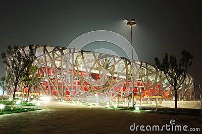 The Beijing National Stadium Editorial Image