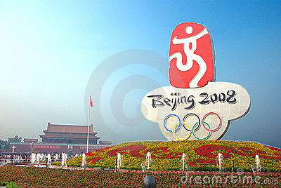 Beijing olympic Editorial Image