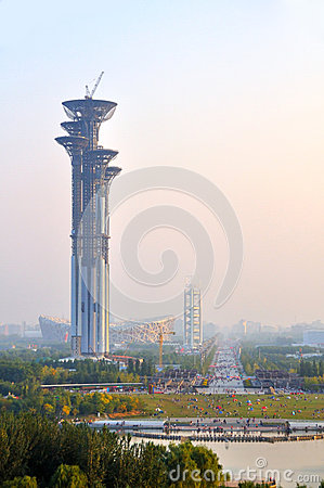 Beijing Olympic Park Editorial Photography