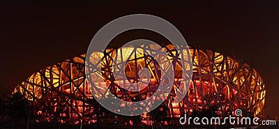 Beijing Olympic Stadium Editorial Photography
