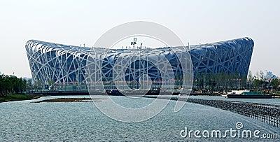 Beijing Olympic stadium Editorial Stock Photo