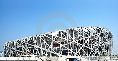 Beijing olympic stadium Editorial Photography