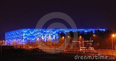 Beijing olympic stadium Editorial Image
