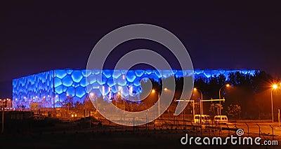 Beijing olympic stadium Editorial Image