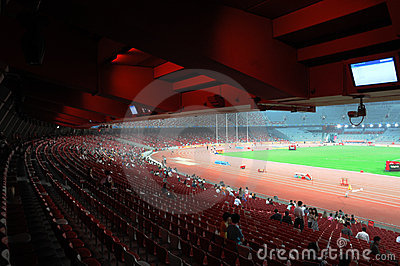 Beijing olympics statium Editorial Stock Photo