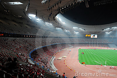 Beijing olympics statium Editorial Photo