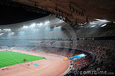 Beijing olympics statium Editorial Photography