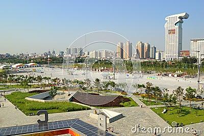Beijing Pangu Plaza Hotel Editorial Image