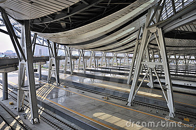 Beijing Railway Station,High Speed Rail Editorial Stock Image