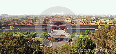Beijing s Forbidden City Editorial Photo