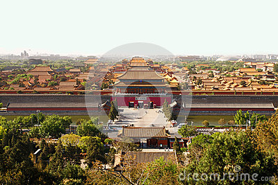 Beijing s Forbidden City Editorial Photography