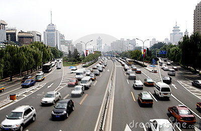 Beijing s streetscape