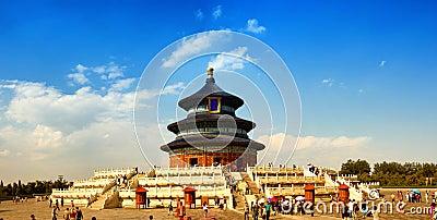 Beijing Temple of Heaven Editorial Photo