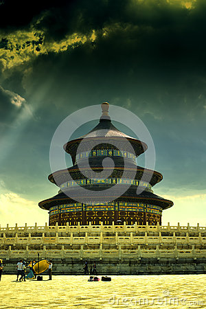 Beijing Temple of Heaven Editorial Photo