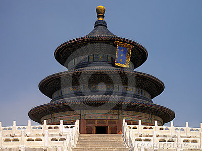 Beijing - Temple of Heaven - China Editorial Stock Photo