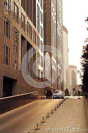 Beijing Wangfujing commercial street