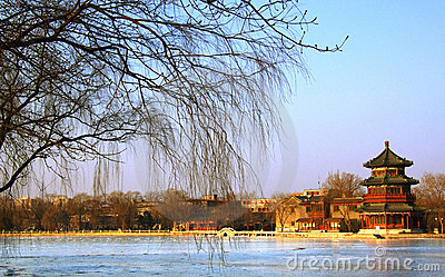 Beijing in winter