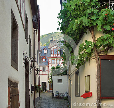 Beilstein at river Moselle