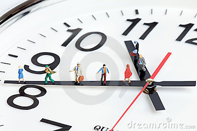 importance of being on time in