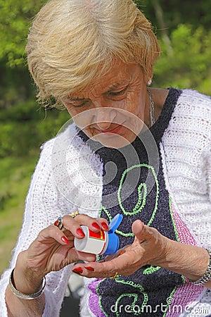 Bejaard medicijn
