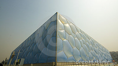 Bejing`s Water Cube Editorial Photography