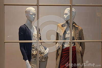 Bekleidungsgeschäft der Frauen