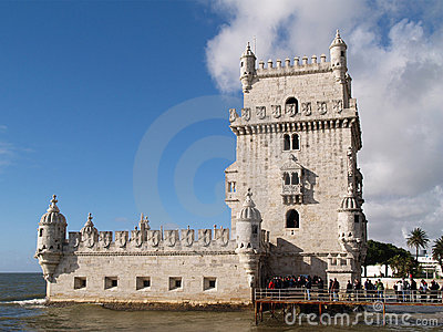 Belem Tower Editorial Stock Photo