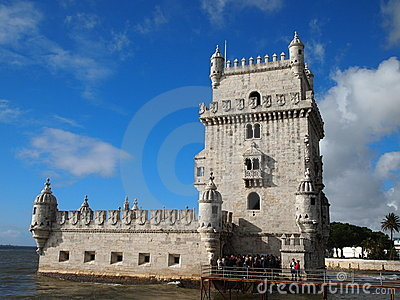 Belem Tower Editorial Stock Image