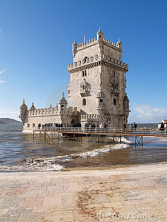 Belem Tower Editorial Photography