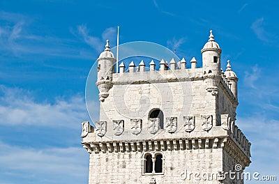 BELEM TOWER (Torre de Belem), Lisbon, Portugal